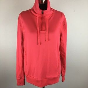 Fabletics Kingston Pullover Sweater M Coral Pink